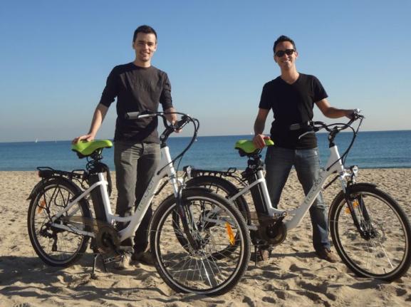 Balade en vélo électrique Barcelone Ville