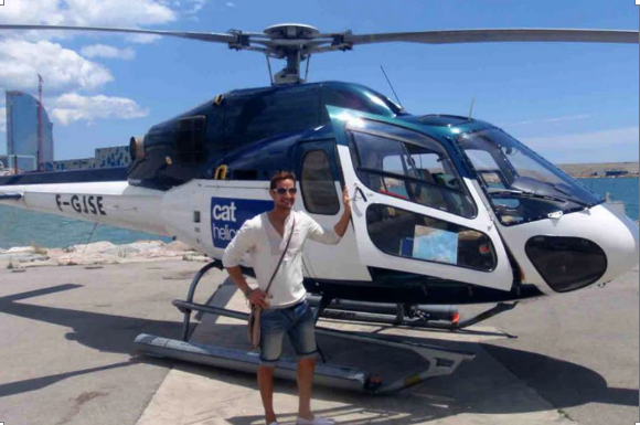 Vol en hélicoptère Barcelone 2
