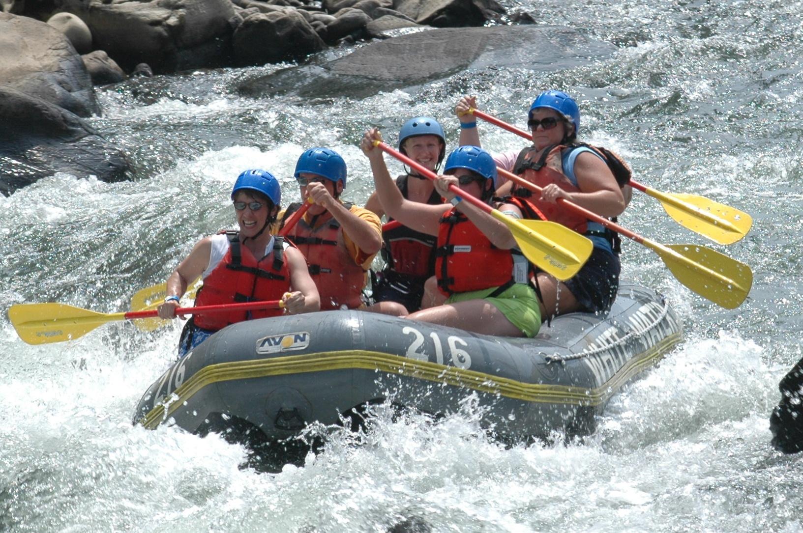 rafting barcelone