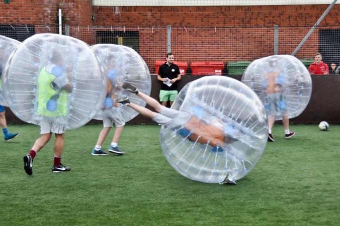 bubble football Valencia