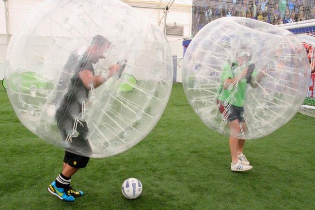 Bubble football Lisbonne